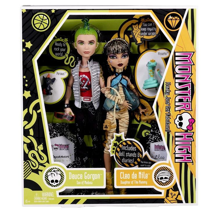 набор кукол дьюс и клео базовые монстр хай купить недорого в