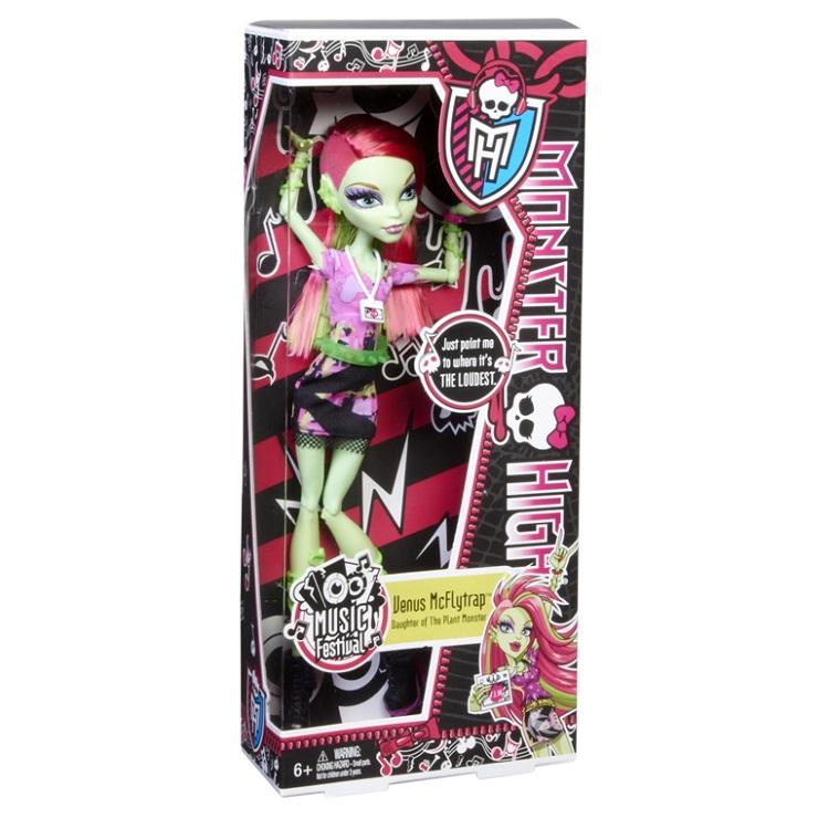 кукла монстер хай венера макфлайтрап в коробке