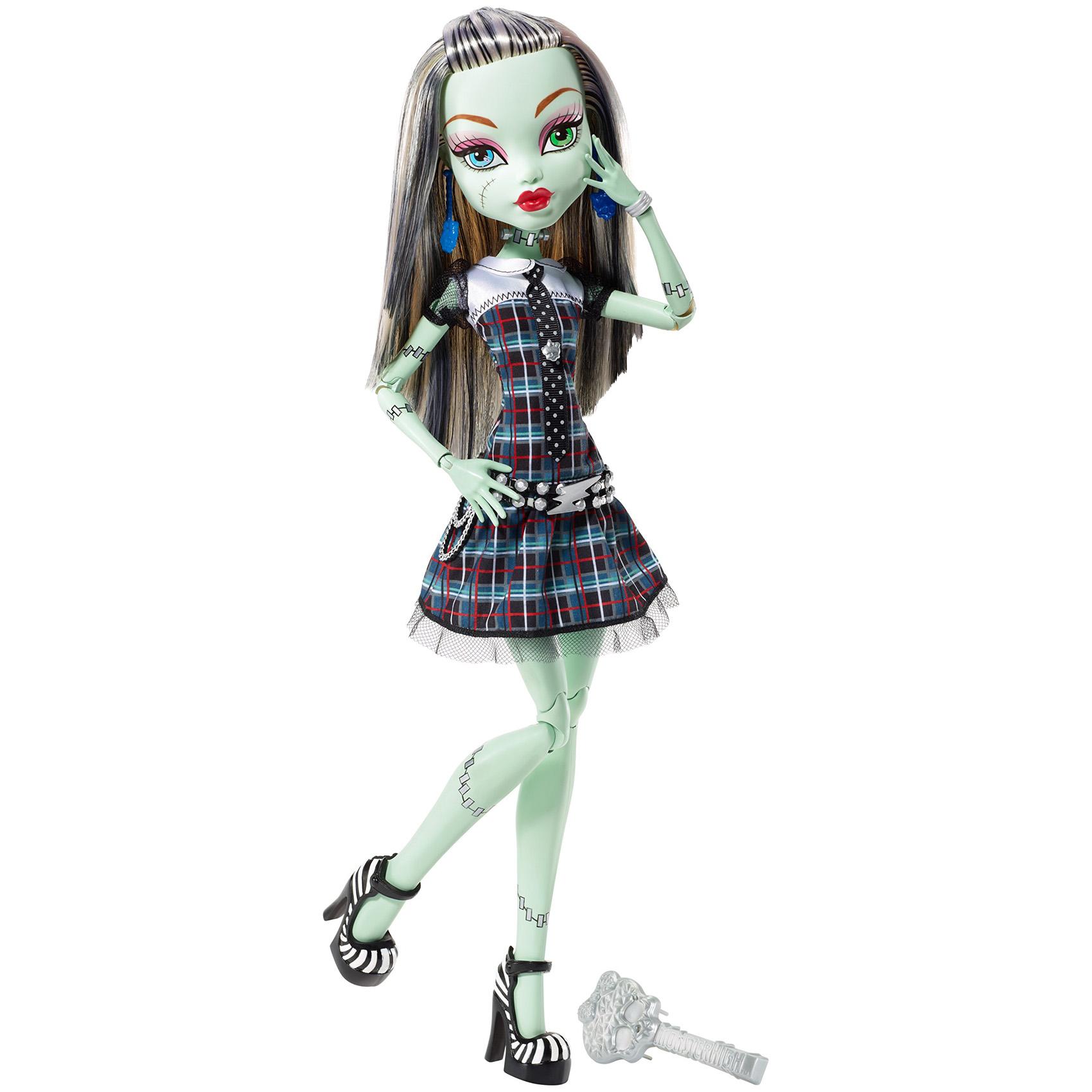 Картинки кукла монстер хай фрэнки