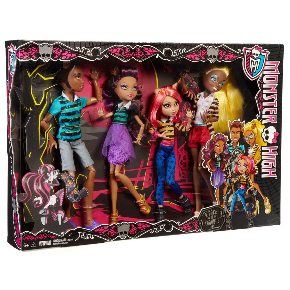 Набор кукол монстер хай купить недорого