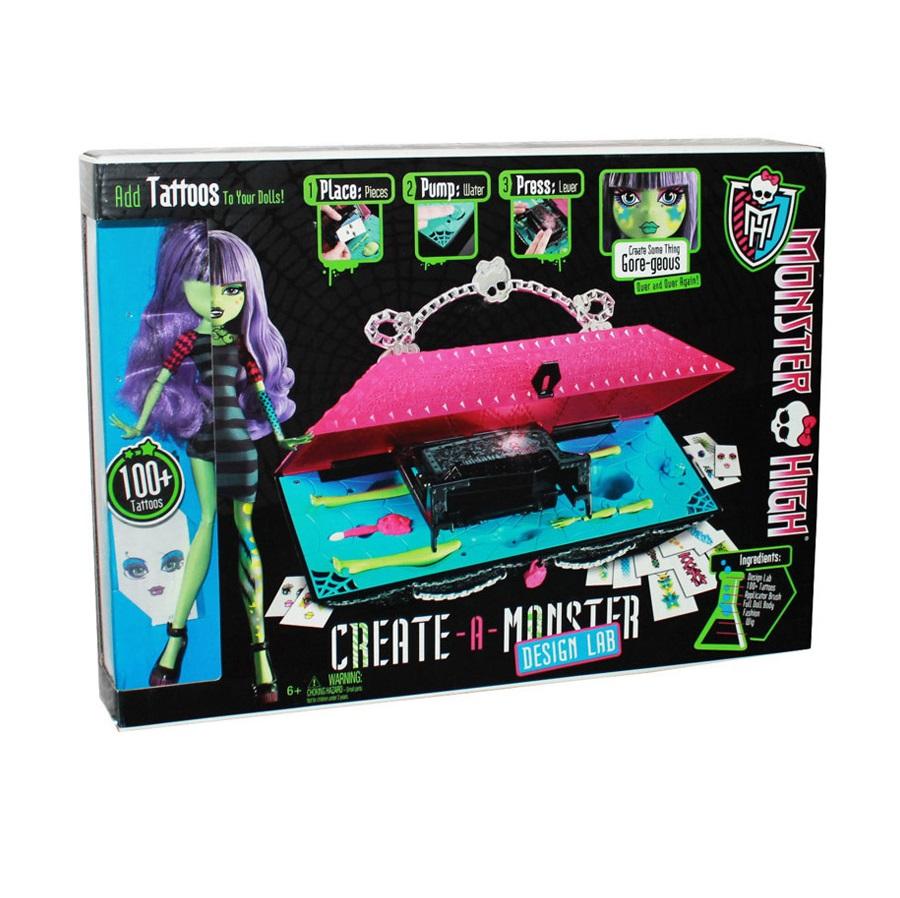 Игровой набор Дизайнерская Лаборатория, Монстр Хай - купить в Империи Кукол - Империи Kids