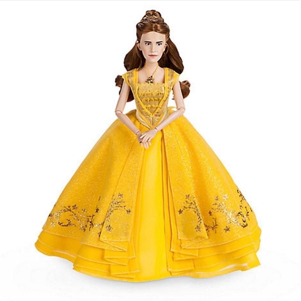 Платье белль для кукол