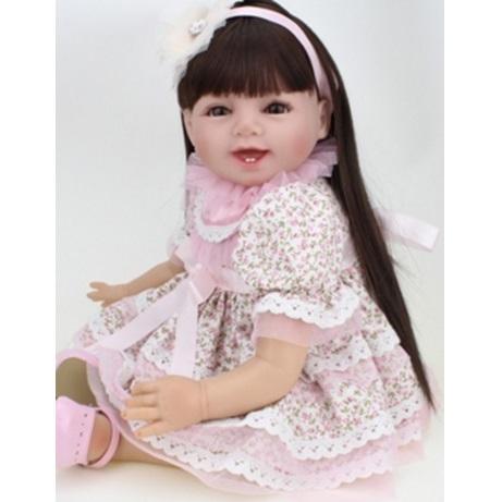 Реборн - Девочка с длинными волосами (56 см)