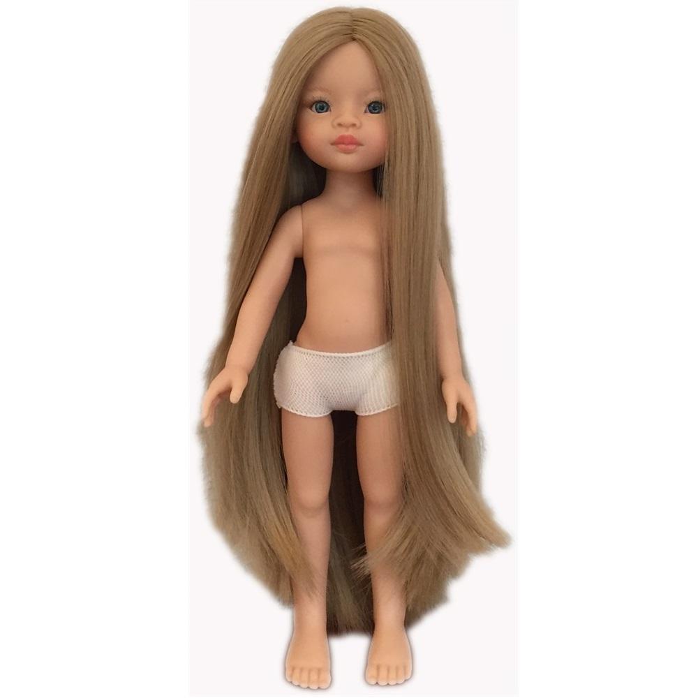Маника без одежды, 32 см (волосы до щиколоток)