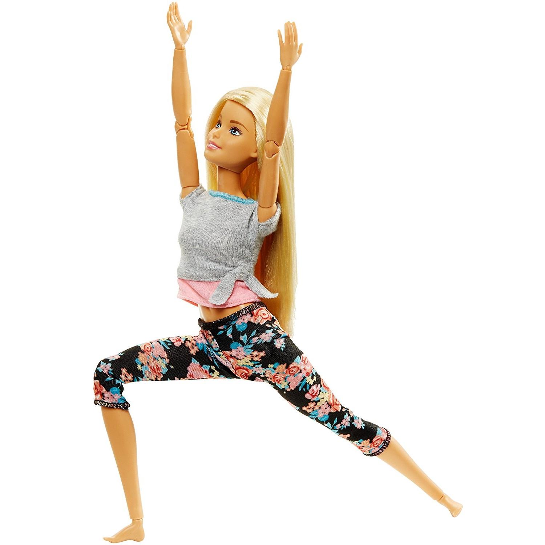 Барби - Йога (блондинка)