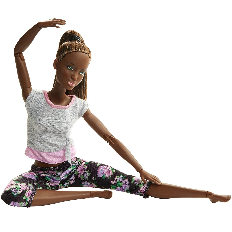 Барби - Йога (темные волосы)