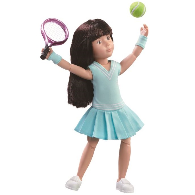 Кукла Луна - Теннисистка (23 см)