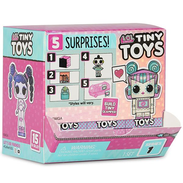 ЛОЛ - Фигурка-робот Tiny Toys