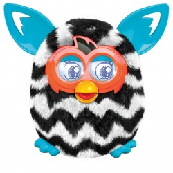 Furby Boom - Black-white zigzag stripes
