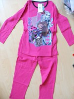Пижама Монстр Хай розовая