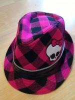 Шляпка Монстр Хай розовая