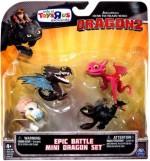 Как приручить дракона - Epic Battle Mini Dragon Set