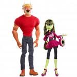Набор кукол - Мэнни Таур и Айрис Клопс, Комик-Кон 2014