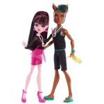 Набор из 2 кукол - Дракулаура и Клод Вульф из серии Музыкальный Фестиваль