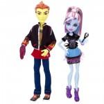 Набор из 2 кукол - Хит Бернс и Эбби Боминейбл из коллекции Безумная Наука