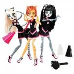 Набор из 3 кукол - Группа Поддержки, Торалей, Мяулодия, Пурсифона