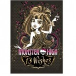 Блокнот Monster High 13 желаний