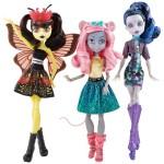 Набор из 3 кукол - Мауседес, Луна и Эль