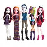Набор из 5 кукол - В торговом центре