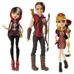 Набор из 3 кукол - Хантер, Сериз, Лиззи