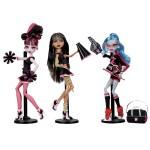 Набор из 3 кукол - Группа Поддержки Монстров, Гулия, Дракулаура, Клео
