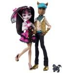 Набор из 2 кукол - Дракулаура и Клод Вульф из серии Выпускники
