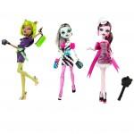 Набор из 3 кукол - Рассвет Танца, Фрэнки, Клодин, Дракулаура