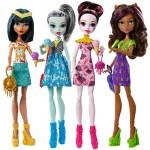 Набор из 4 кукол - Монстры с мороженым