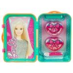 Барби - Набор косметики в зеленом чемодане