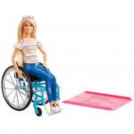Барби - На инвалидном кресле, блондинка