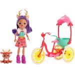 Игровой набор - Данесса Дир на велосипеде